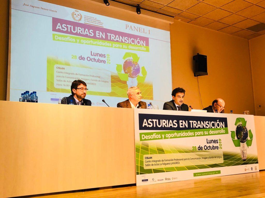 Colminas en Asturias en Transición